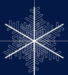 Snowflakes - Adobe Illustrator Tutorial -
