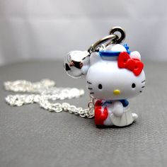 Hello Kitty Necklace  Ahoy Sailor Kitty