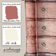Scandinavian Pink. Read the complete post on Colorways at Leslie Stocker.com If you love pink as much as I do check out my posts,   Pretty in Pink, Secretaire ExtraordinaireandCountry Sideboar
