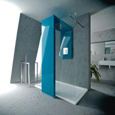 Monolite designe by Studio Batoni for Brandoni  #bathroom #shower