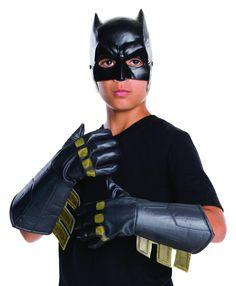 #xmas #Christmas #Trendy Halloween - #Rubies Batman v Superman Batman Child Gauntlets - AdoreWe.com