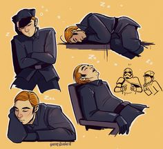 Long live the Supreme Leader  : queenstardust:   Big Hux Mood 2k17
