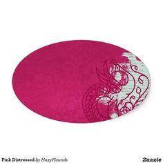 Pink Distressed