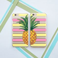 Pineapple Case Best Friends Couple Cases iPhone by OhioDesignSpace