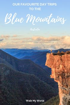 At under two hours from Sydney city centre the Blue Mountains make for the perfect day trip. If you have a car or can only use public transport we have you covered with our itineraries for the perfect Blue Mountains day trips. Brisbane, Melbourne, Australia Travel Guide, Visit Australia, Sydney Australia, Australia Trip, Coast Australia, Western Australia, Blue Mountains Day Trip