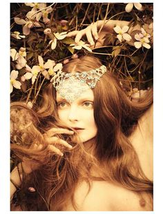 Eniko Mihalik Is Ethereal in Vogue Italia's July Issue by Ellen von Unwerth