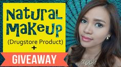 Natural Makeup (Drugstore Product) + GIVEAWAY - Bahasa