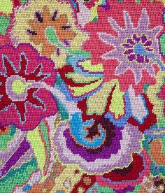 Kaffe Fassett On Point | THE NEW COLLECTION FROM VISIONARY TEXTILES DESIGNER KAFFE FASSETT