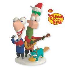 2012 Perry Christmas Phineas and Ferb Hallmark Disney Keepsake Ornament