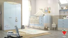 "934356cb28f Παιδικά Δωμάτια ΑΦΟΙ ΜΑΤΙΑΔΗ on Instagram: ""Baby Boy - - >>  http://bit.ly/Vrefiko-domatio-baby-boy Ένα υπέροχο βρεφικό δωμάτιο για τον  μικρό σας πρίγκιπα ..."
