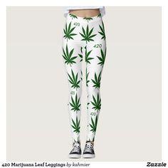420 Marijuana Leaf L