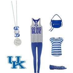 """""""University of Kentucky Outfit"""" by sparklelife on Polyvore #Kentucky #Wildcats"""