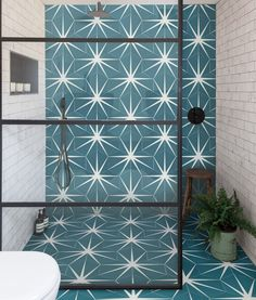 The much-loved Lily Pad tile is now available in a cheaper porcelain finish! Love Lily, Tadelakt, Hexagon Tiles, Hex Tile, Geometric Tiles, Cement Tiles, Tiling, Mosaic Tiles, Room Tiles