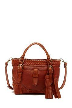 Gorg brown braided purse