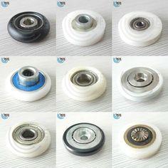 2pcspack Shower Door RollersRunnersWheels 19mm Wheel Diameter