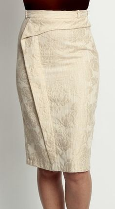 Eva Franco side step skirt