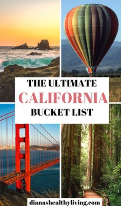 If you are planning a trip to California, you will want to check out the ultimate bucket list of things to do in California and places to visit in California. It includes Yosemite, La Jolla, Big Sur, Santa Monica, Death Valley, San Francisco, San Diego, Napa Valley, and so many other places to discover. This is the ultimate list of things to do in California. #california #californiaadventure #californiadreaming #traveltips #northerncalifornia #roadtrip |southern California |California road…