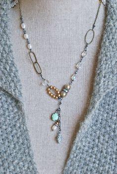 Isabelle.RomanticCrystalFreshwater perle chute par tiedupmemories