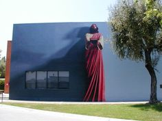 The Word mural - at Biola University, La Mirada CA
