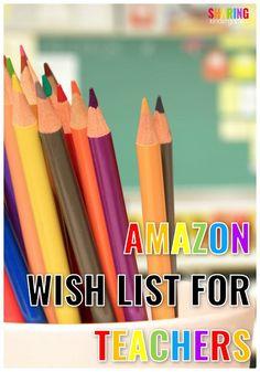 Amazon Wish List for