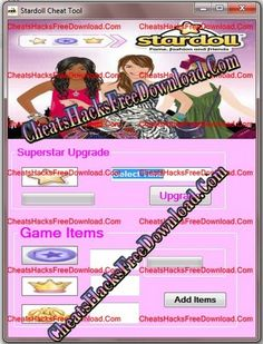 Stardoll hack stardoll cheats pinterest stardoll cheats engine hacks tool gumiabroncs Image collections