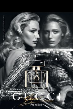 Blake Lively Gucci Premiere Fragrance Campaign