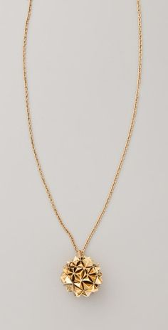 house of harlow crater locket necklace