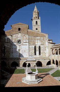 Santa Maria Di Collemaggio In L 39 Aquila As It Was Before