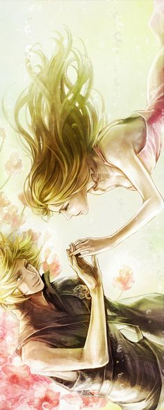 Final Fantasy VII Cloud and Aerith
