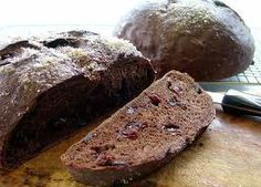 Chocolate Cherry Bread, toasted, with a smear of butter, is sinfully tasty.