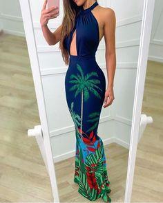 Women's Fashion Dresses Online Shopping – Chic Me Fishtail Maxi Dress, Maxi Dress With Slit, Bodycon Dress, Trend Fashion, Look Fashion, Fashion Women, Dress Outfits, Fashion Dresses, Dress Vestidos