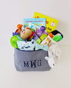 What to stuff in baby's first Easter Basket