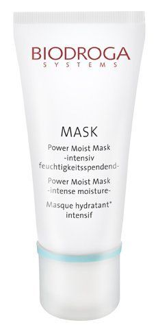 Biodroga Power Moist Mask (1.7 oz) by Biodroga. $34.76. Most Popular Mask sold. Biodroga Power Moist Mask,quenches the skins natural thirst. Leaves a pleasant sensation on the skin, firms facial contours, smoothes lines and wrinkles from dryness. Gives the skin immediate freshness and elasticity. Ensures optimal skin moisturizing. Smoothes the skins structure, rejuvenates tired skin. An ideal after sun product.  (1.7 oz)