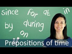Prepositions in Time Expressions - English Speaking Practice - YouTube