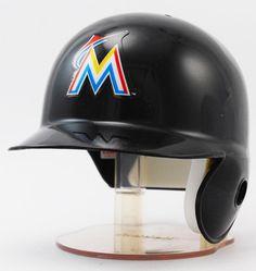 Riddell MLB Team Mini-Helmet - Miami Marlins