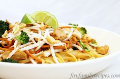 Noodle & Co Thai peanut saute
