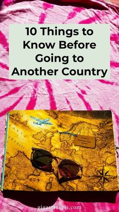 If it is your first time travelling internationally or maybe it's been a while, here are 10 things you need to know before travelling to another country. Travel Checklist, Travel Tips, Things To Know, Time Travel, First Time, Need To Know, Travelling, Country, Ideas