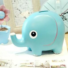 Kids Elephant Banks Money Saving Coin Money Cute Elephant Bank Kids Boys & Girl #OpportunityBestDealElephantBank