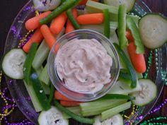 The Pub and Grub Forum: Mardi Gras Vegetable Dip