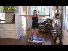 Vibration Machine Workout Guide - YouTube