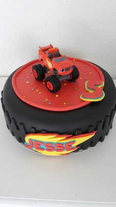Blaze taart