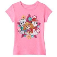 Marshall Disney Paw Patrol Skye Pup Heroes Pink Flannel Nightgown