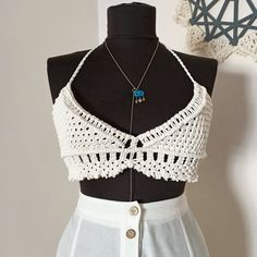 Hippie Boho, Bohemian Style, Macrame Dress, Festival Tops, Hippie Festival, Macrame Tutorial, Handmade Design, Slow Fashion, Bikini Tops