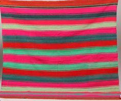 Bolivian Frasada Wool Rug/Blanket #1