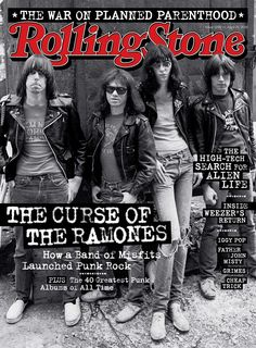 Ramones; Rolling Stone; Punk; Cover