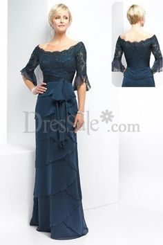 Fantastic Floor-length Dress for Mother of the Bride