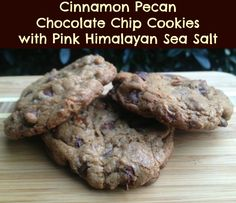 Cinnamon Pecan Chocolate Chip Cookies with Pink Himalayan Sea Salt – Bake Sale Giveaway #McCormickBakeSale