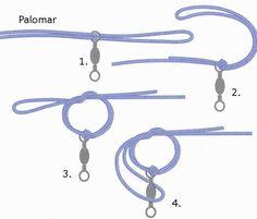 Fishing knots offshore swivel knot helpful tips pinterest for Fishing swivel knot