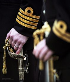 Members of ballistic submarine HMS Vanguard's Port ship's company are pictured during during Divisions conducted at HM Naval Base Clyde in January Royal Navy Uniform, Royal Navy Officer, Royal Marines, Hms Vanguard, Royal Navy Submarine, British Armed Forces, Star Trek Ships, Submarines, British Style