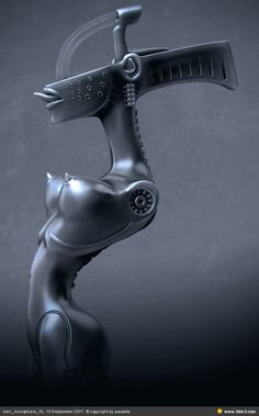 Z02K.info | internet is our sea - KoRn microphone stand HR Giger by parasite -...